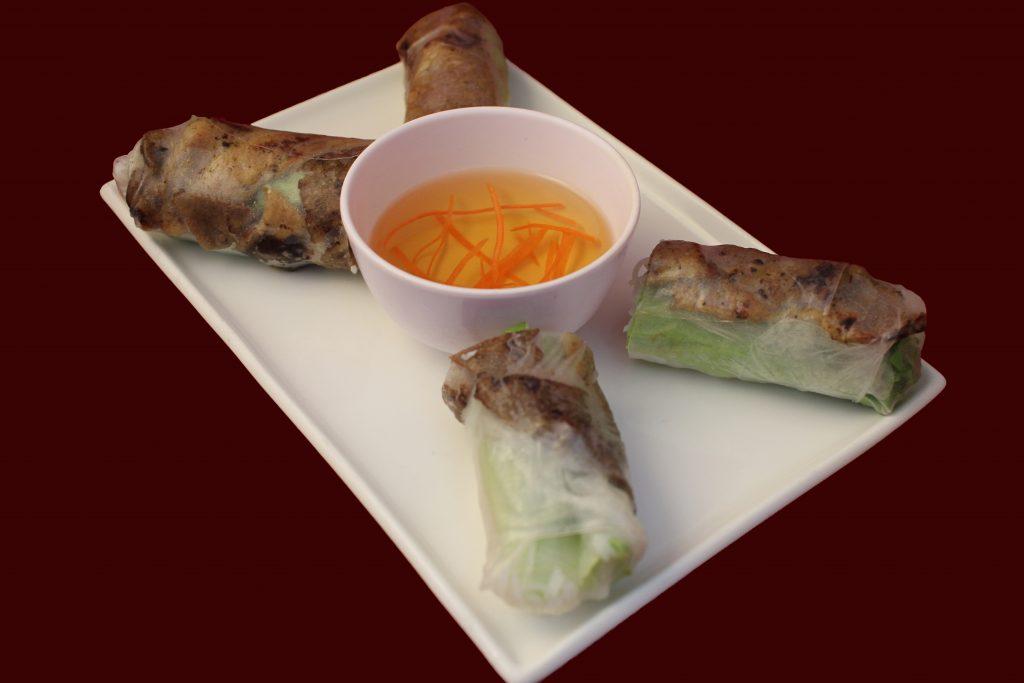 Davis CA Family Restaurant | Pho King 4 Springrolls01