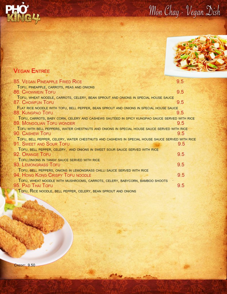 Davis CA Family Restaurant | Pho King 4 page7 2019 web